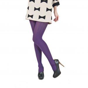 Ciorapi pantalon Alina Style-violet