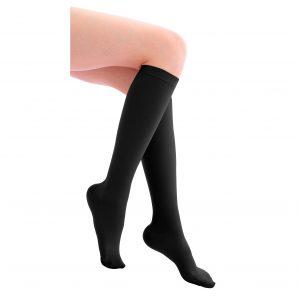 Ciorapi sub genunchi-negri