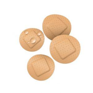 Plasturi rotunzi impermeabili