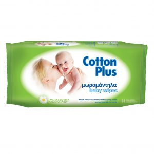 Servetele umede pt copii Cotton Plus