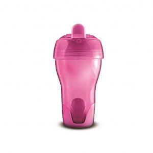 Cana cu cioc silicon-roz