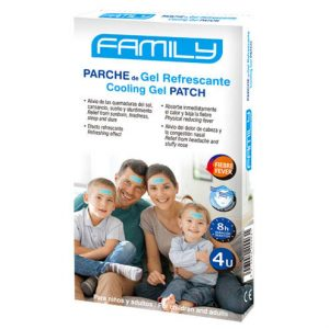 Plasturi racoritori cu gel Family
